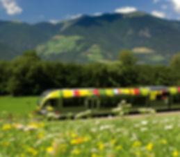 Mit dem Zug anreisen