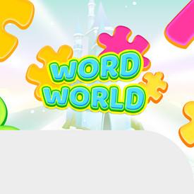 WORDWORLD GAME LOGO DESIGN