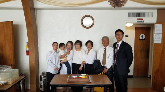 2018년 4월 생일 축하