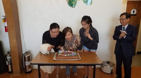 2018년 7월 생일 축하
