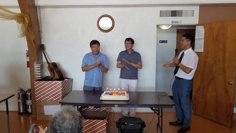 2019년 9월 생일축하