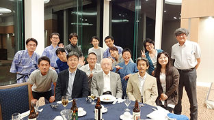 東海大学リハビリテーション科 年1回開催されるサマーセミナ「脳良会」  懇親会の様子