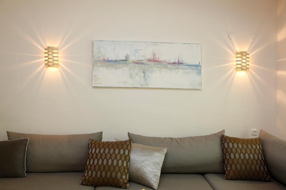 גופי תאורה לסלון - מנורות קיר