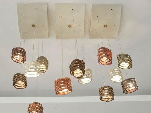 מנורת טבעות תליה קטנות