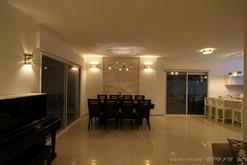 מנורות קרמיקה בסלון