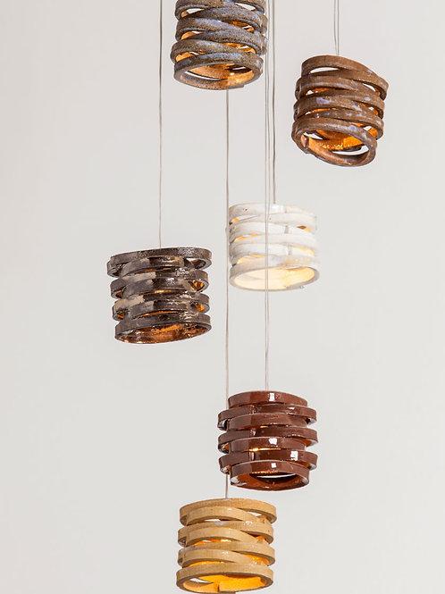 מנורת טבעות קטנות