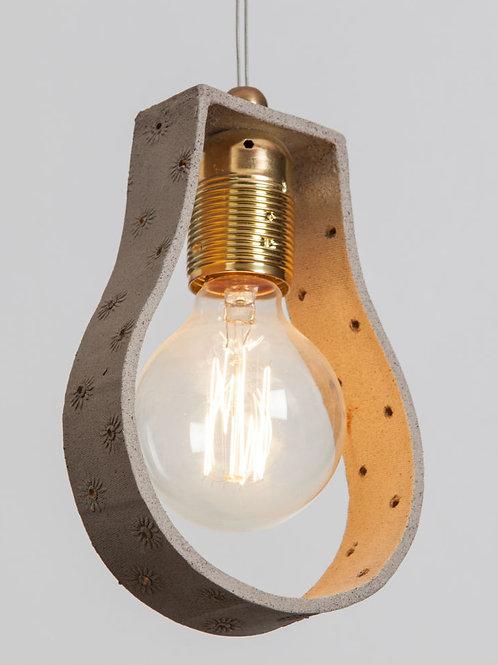 מנורת פחם פס קרמיקה
