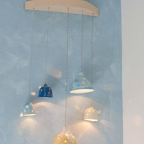 מנורת קיר חמישית פעמונים