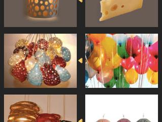 ההשראות שלי בעיצוב מנורות