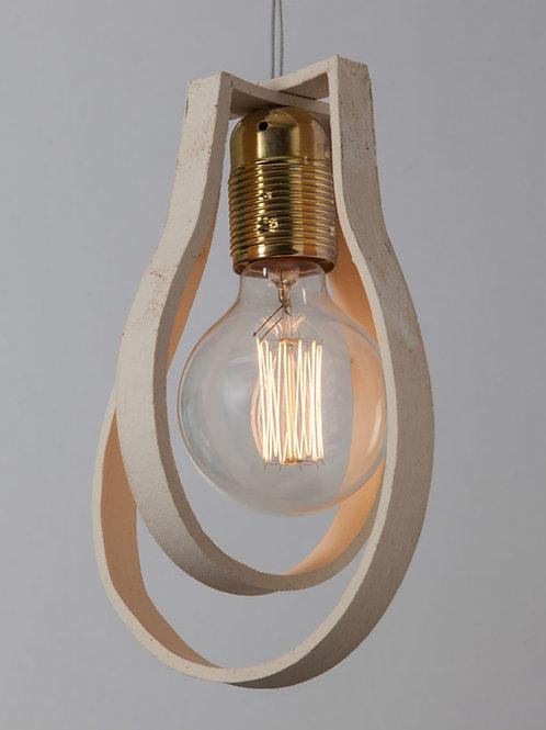 מנורת פחם פסי קרמיקה