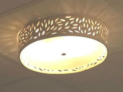מנורת תחרה צמודת תקרה