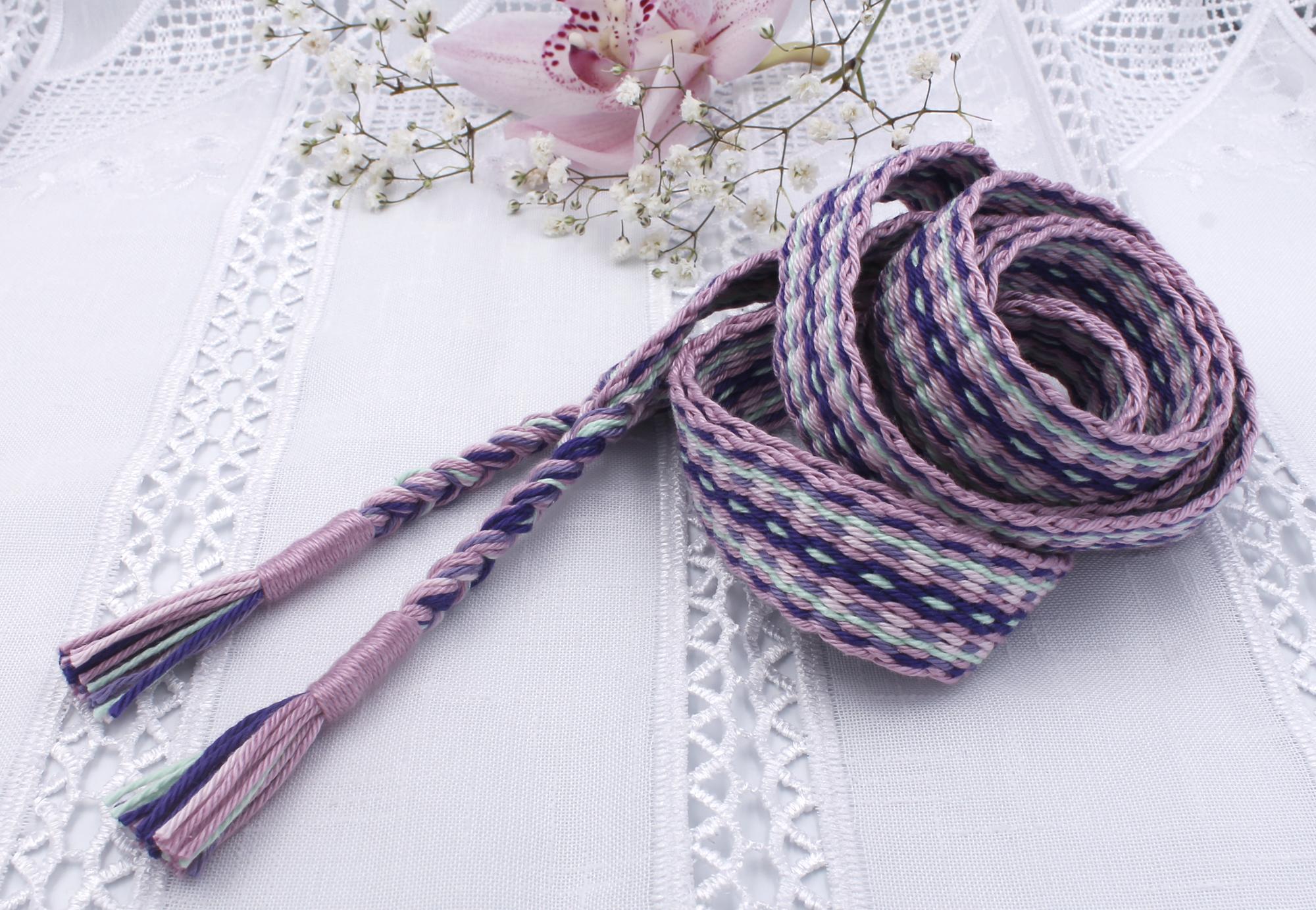 Cherry Blossom Handfasting Cord (4)