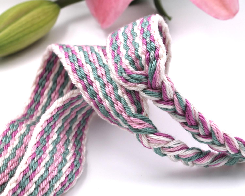 Handfasting Cord - Sage & Pink (2)