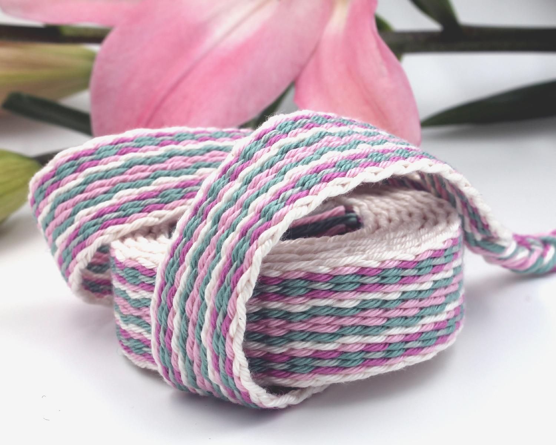 Handfasting Cord - Sage & Pink (4)