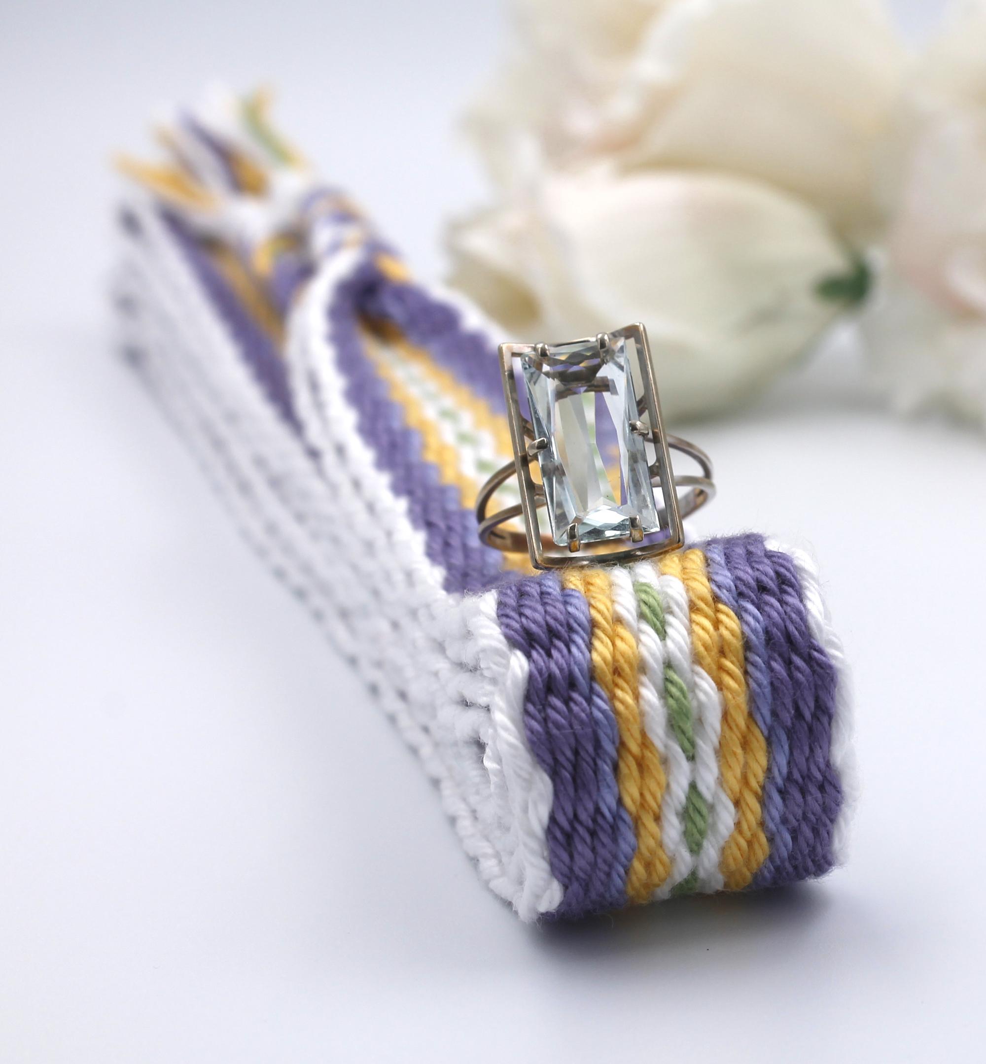 Lavender Blend Handfasting Cord (6)