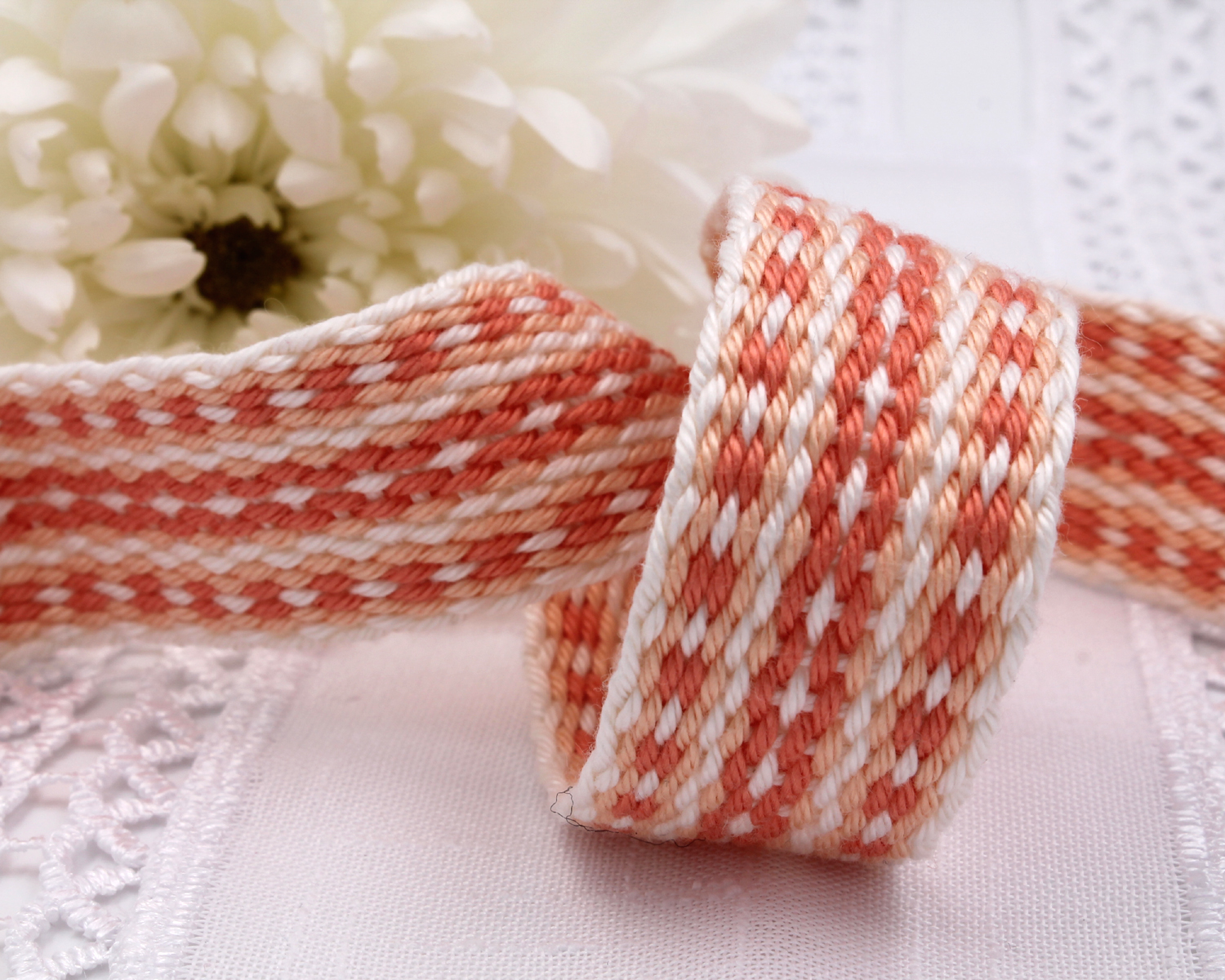Handfasting Cord - Coral (6)
