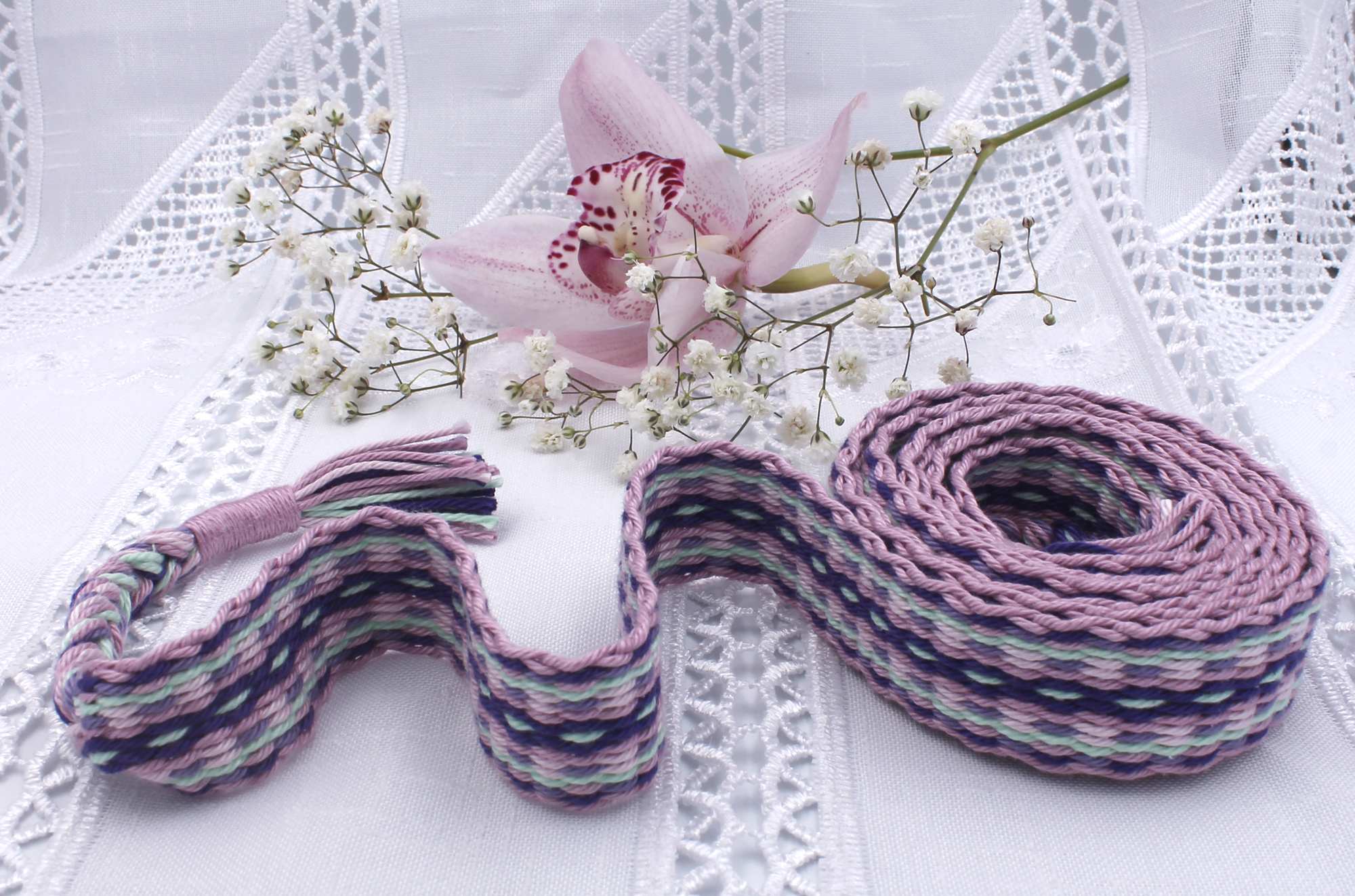 Cherry Blossom Handfasting Cord (5)