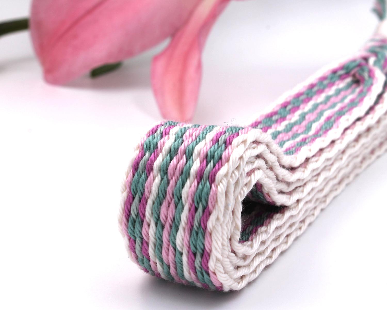 Handfasting Cord - Sage & Pink (5)