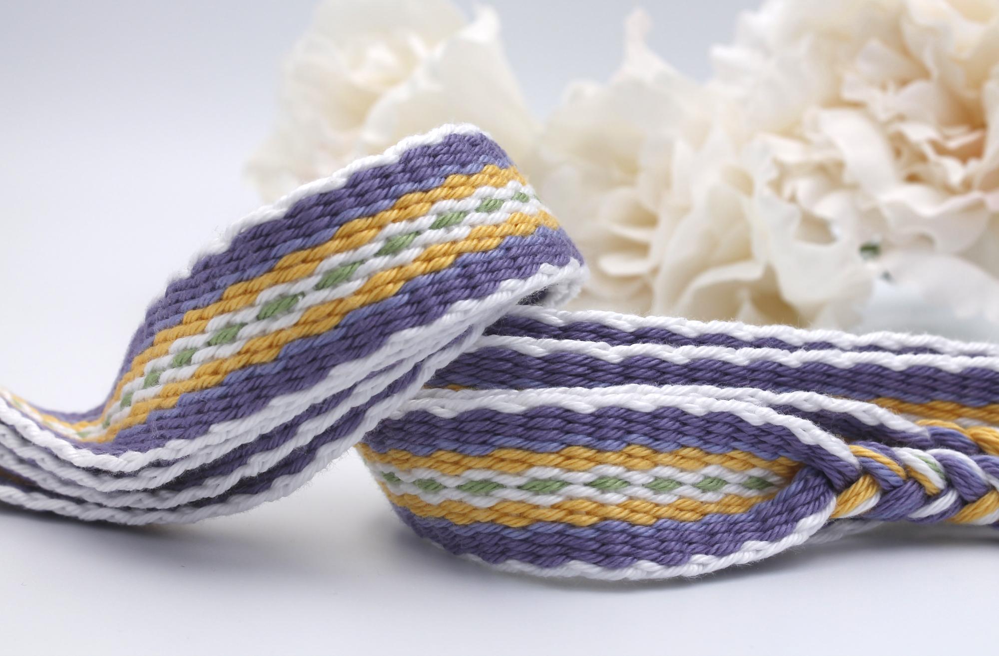 Lavender Blend Handfasting Cord (1)
