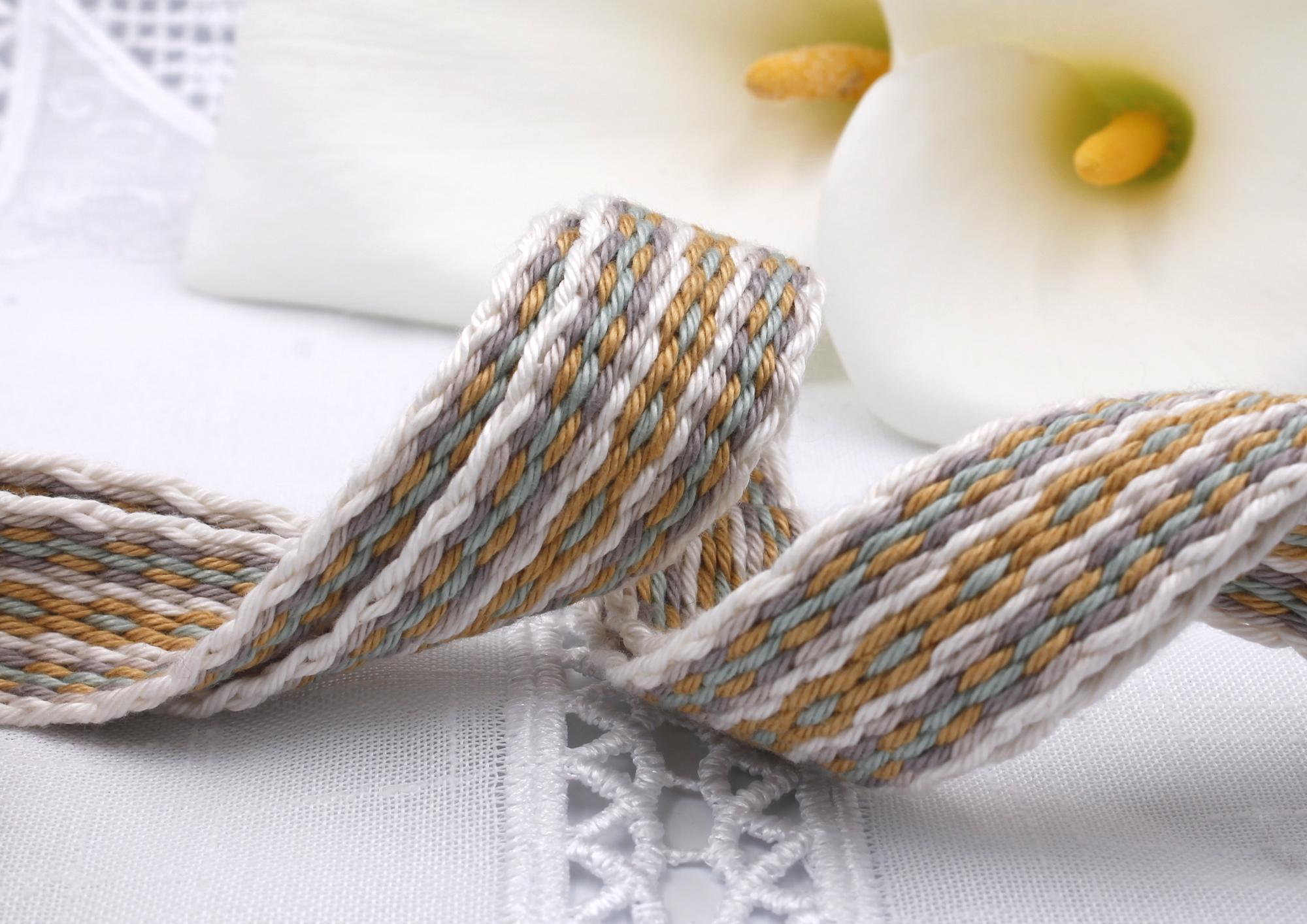 Handfasting Cord - Golden Sage (6)