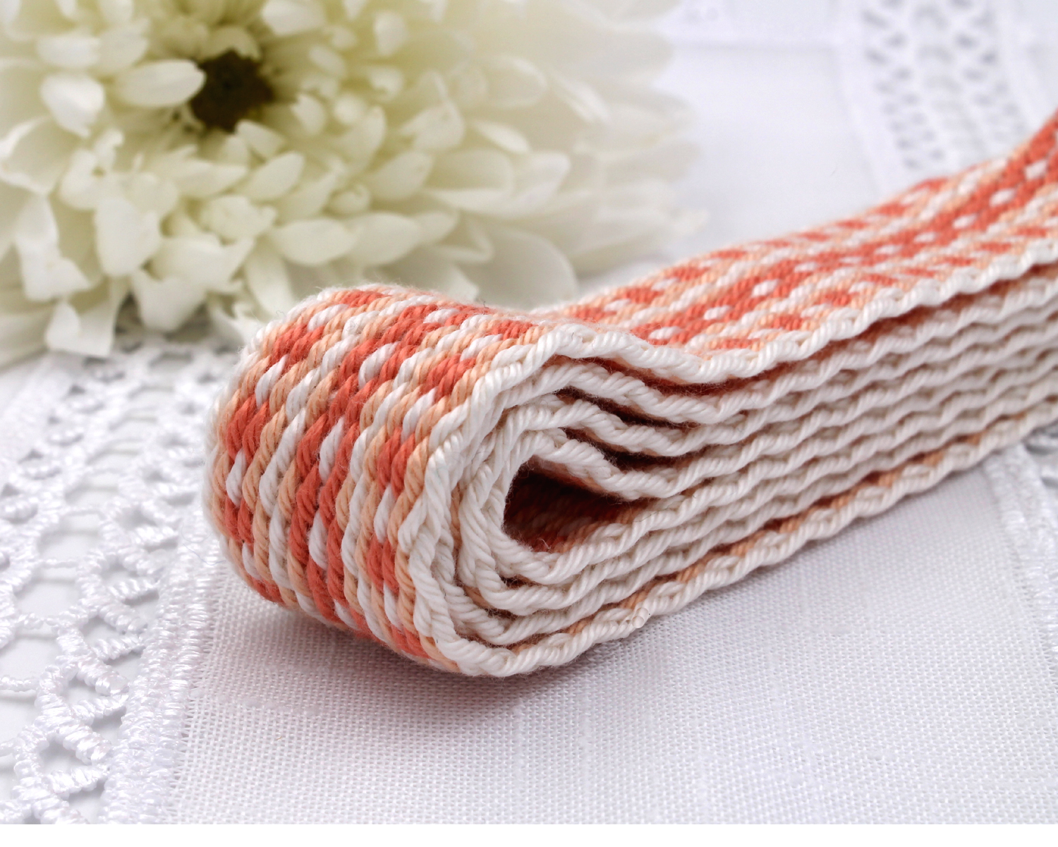 Handfasting Cord - Coral (3)