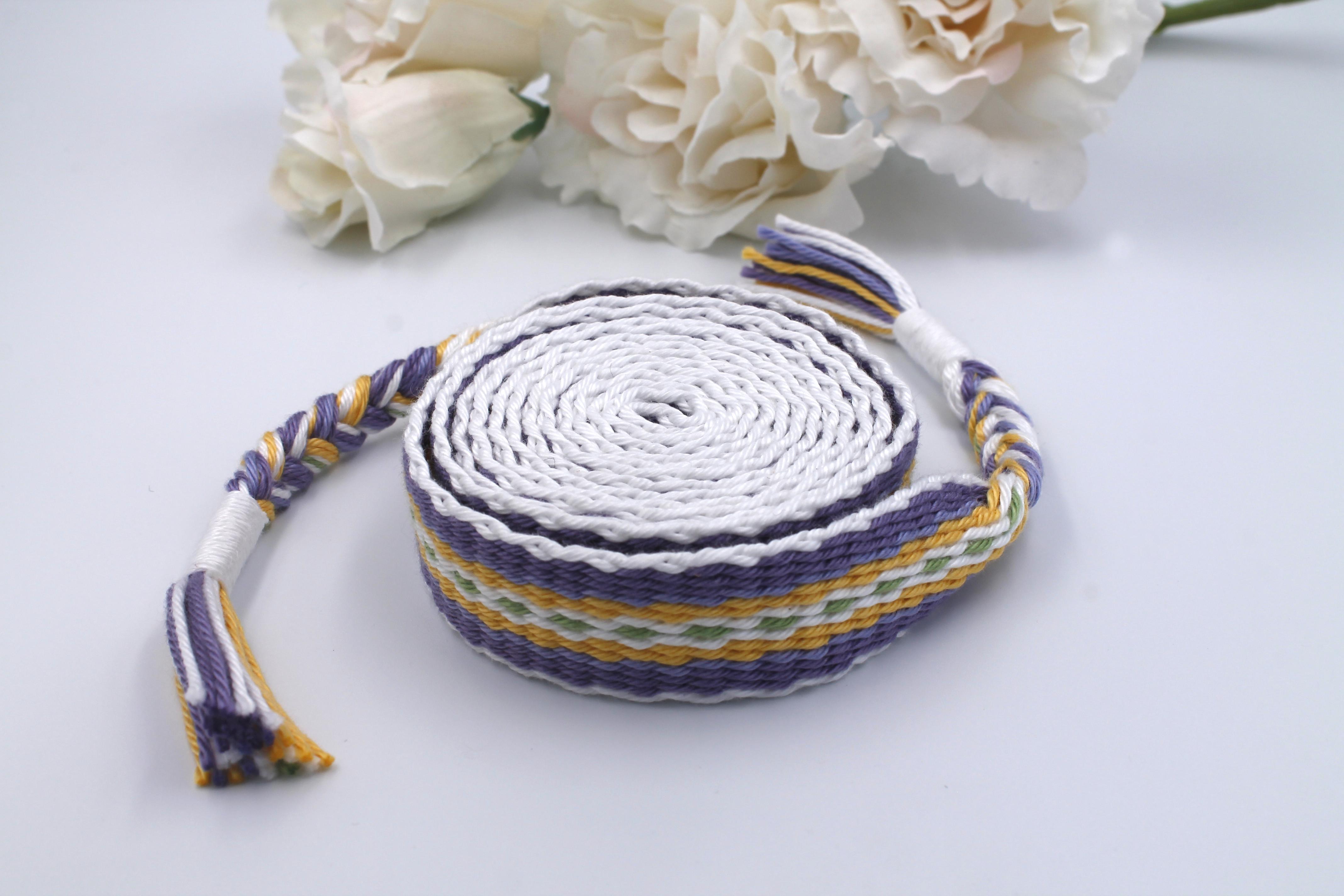 Lavender Blend Handfasting Cord (4)