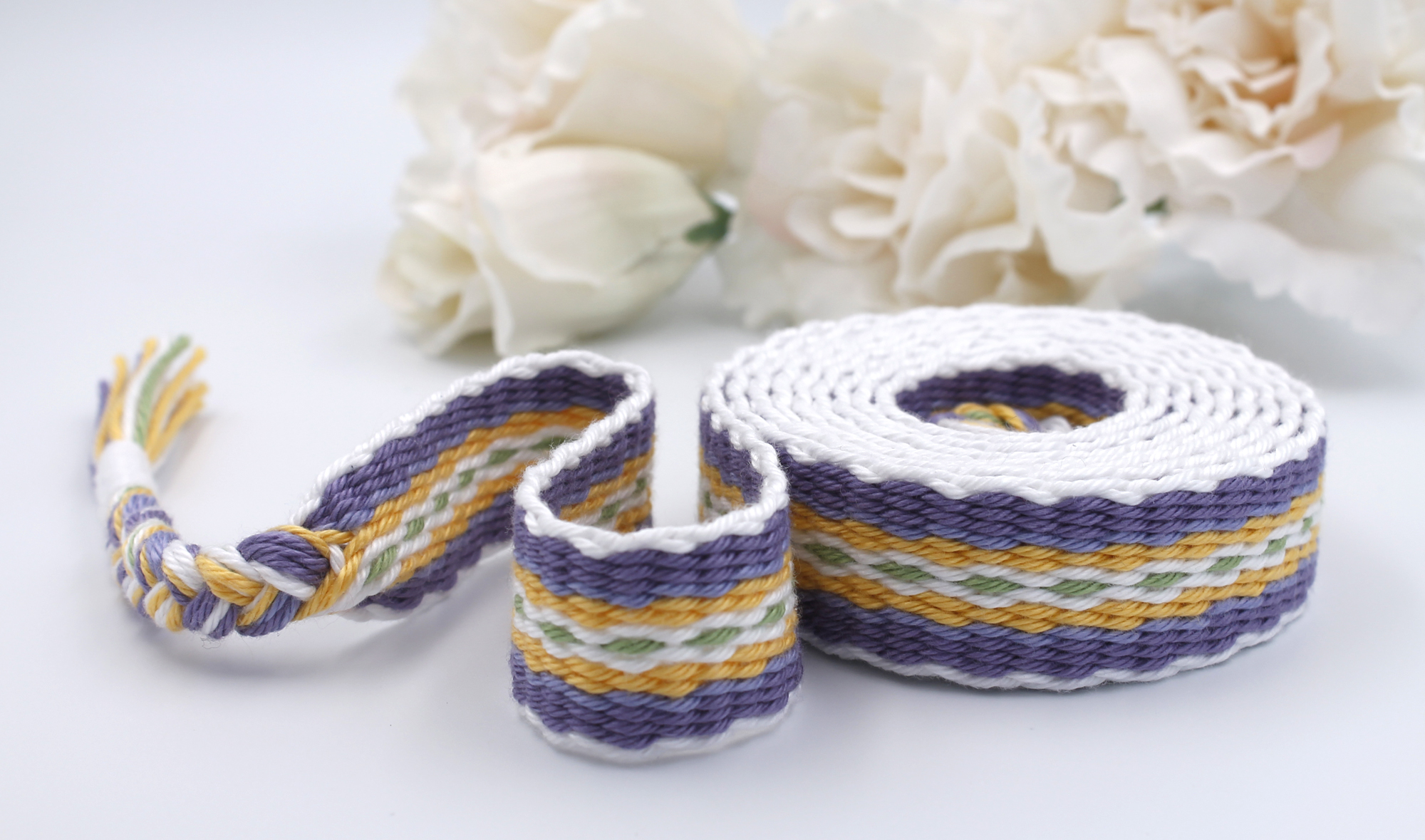 Lavender Blend Handfasting Cord (5)