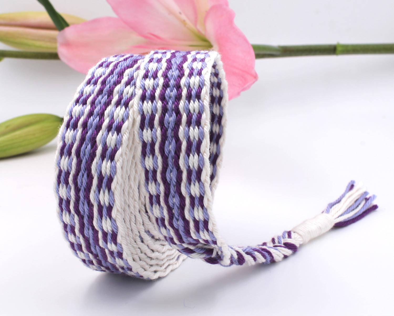 Handfasting Cord - Royal Violet (7)