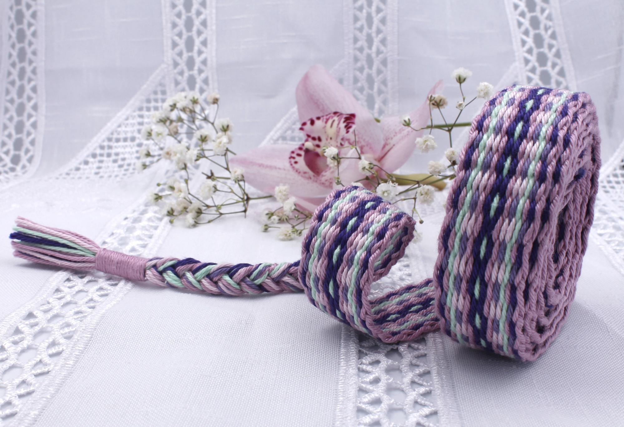 Cherry Blossom Handfasting Cord (6)