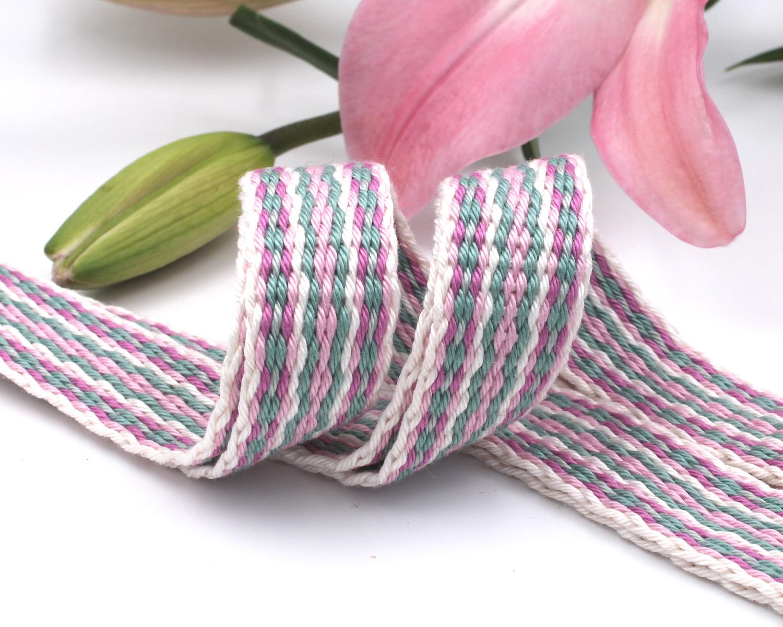 Handfasting Cord - Sage & Pink (1)