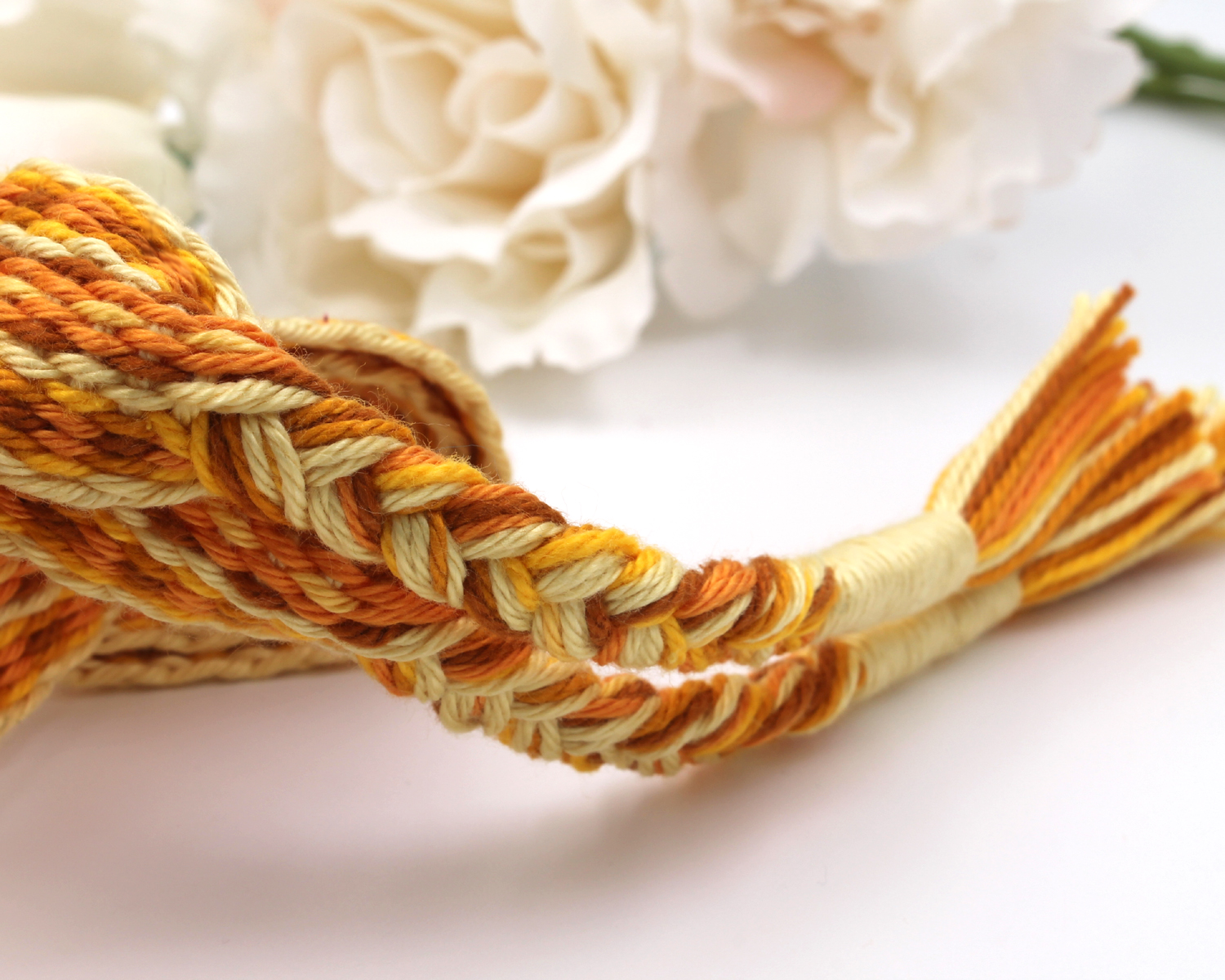 Golden Day - Handfasting Cord (9)
