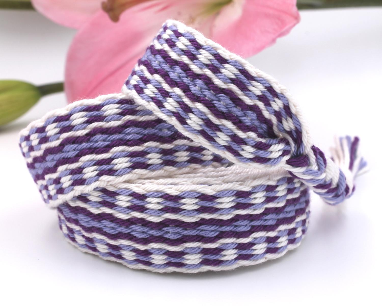 Handfasting Cord - Royal Violet (1)