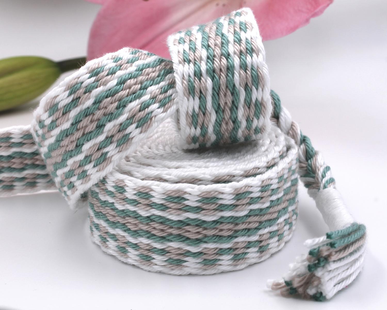 Handfasting Cord - White Sage (6)