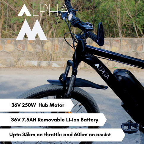 ALPHA M ELECTRIC CYCLE