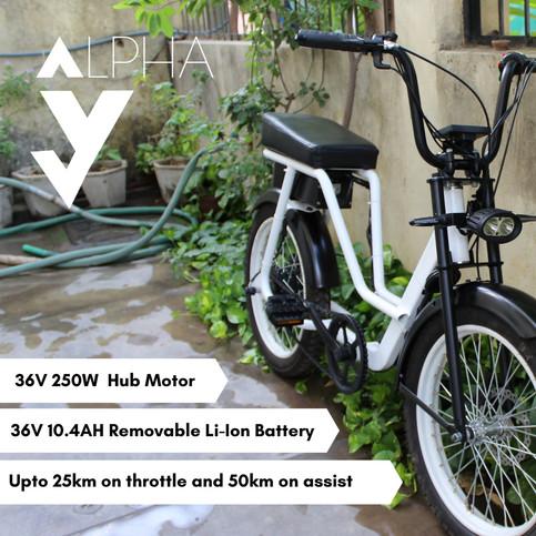 Alpha S Electric Bike