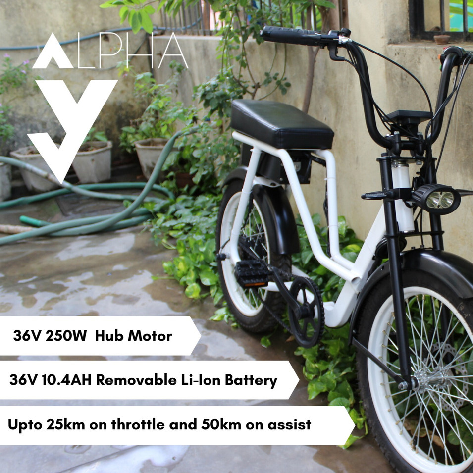 Alpha S Electric Bike