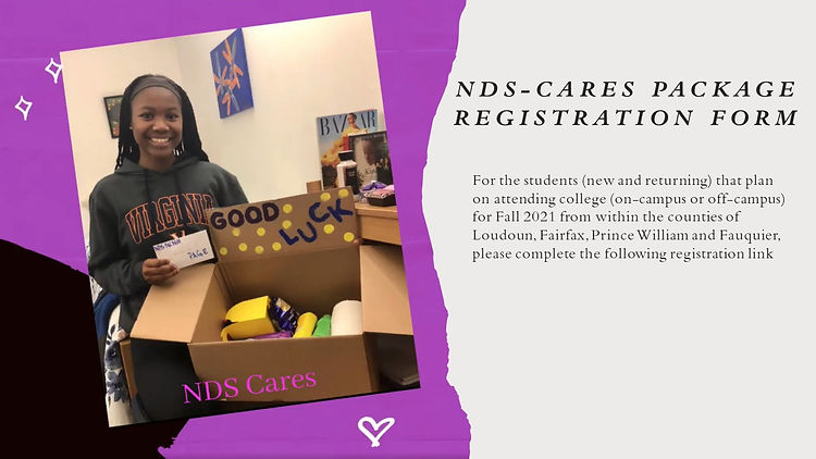 NDS NCNW College Care Package