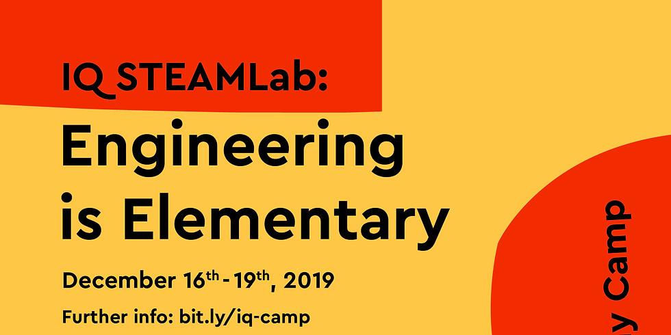 SteamLAB Holiday Camp : Engineering is Elementary - IQ Bintaro