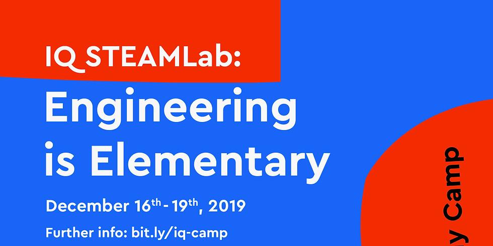 SteamLAB Holiday Camp : Engineering is Elementary - IQ BSD Gramedia World