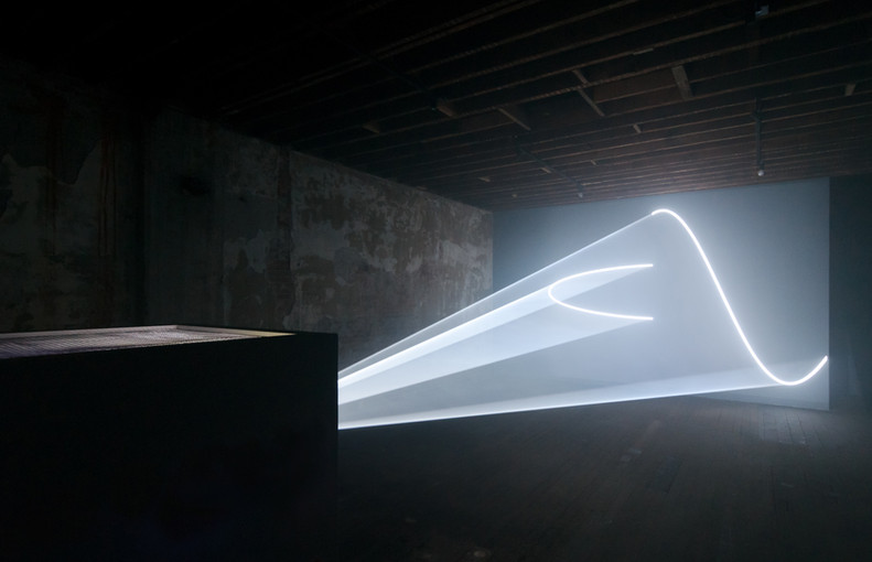 Artwork by Anthony McCall