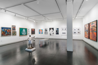 Artwork curated by John Goodwin