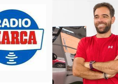 Entrevista a David Feijoo, colegiado nº 54771 en RADIO MARCA Gran Canaria - 27.04.20
