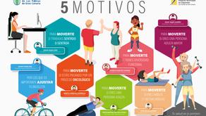 Motivos para moverte IMD Las Palmas de GC, Avalado por COLEFCanarias