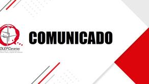 COMUNICADO DEL COLEF CANARIAS: Respuesta Consejería de Educación, Universidades, Cultura y Deportes