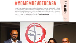 REPORTAJE ESPECIAL Revista DOCS sobre la campaña COLEFC #YoMeMuevoEnCasa