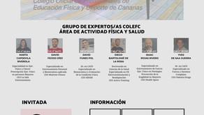 """CHARLA VIRTUAL - La """"Nueva Normalidad"""" en la Actividad Física: Entrenamiento y Salud - 16 julio"""