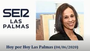 Entrevista a Ginnette González Ojeda, gerente del COLEFCanarias en RADIO SER Las Palmas 04.06.20