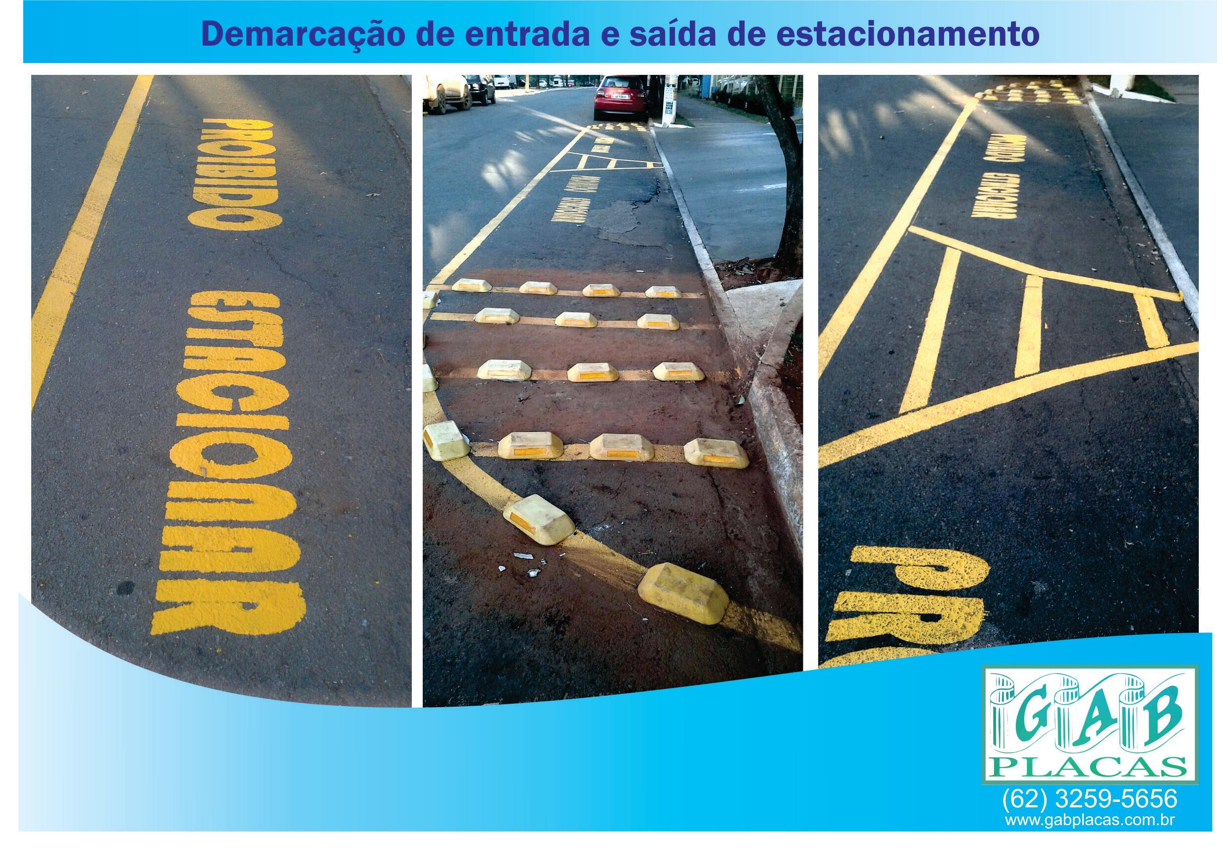 GAB_Placas_Goiânia_GO_-_Demarcação_de_entrada_e_saída_de_estacionamento