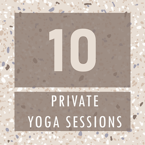 10 Private Yoga Sessions