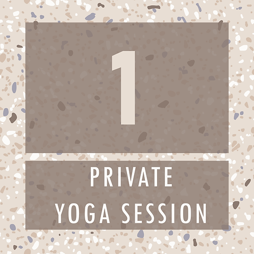 One Private Yoga Session